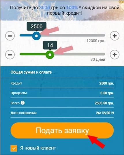 как взять кредит онлайн в алекс кредит в Украине, инструкция, советы