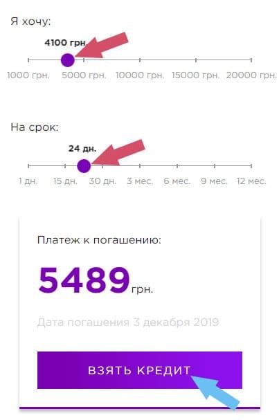 как взять кредит в finhub украина 24 / 7
