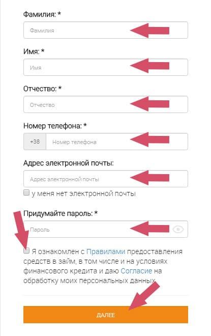 як получити гроші в Кредітплюс, України, Київ Дніпро, Харьков Николаев