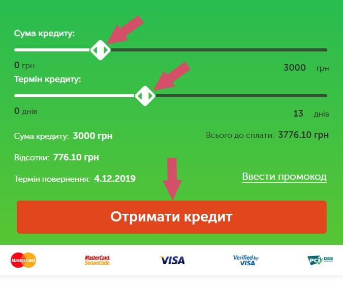 как взять кредит в Topcash Украина